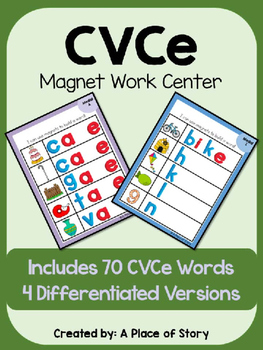 CVCe Magnet Boards Center (Long Vowels)