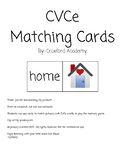 CVCe Matching Cards Literacy Center