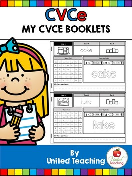 CVCe: My CVCe Word Work Booklets