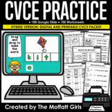 CVCe NO PREP and Google Slide Ready!