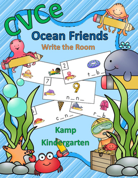 CVCe Ocean Friends Write the Room