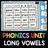 CVCe Phonics Unit - Long Vowels - SUPER E - Kindergarten - First Grade Reading