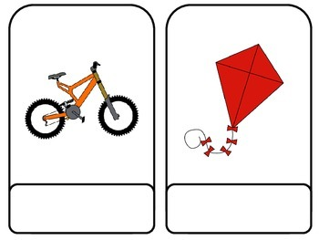 CVCe Picture Word Cards: Matching Words to Pictures; First; Special Ed.