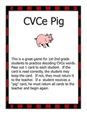 CVCe Pig Game
