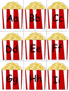 Popcorn CVCe Word Wall