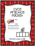 CVCe Practice Packet