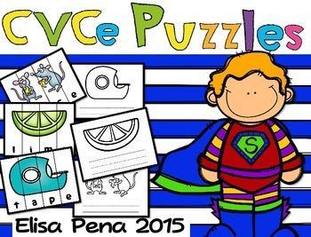 CVCe Puzzles