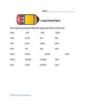 CVCe Quiz