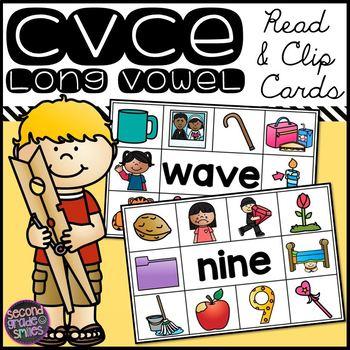 CVCe Read and Clip Cards