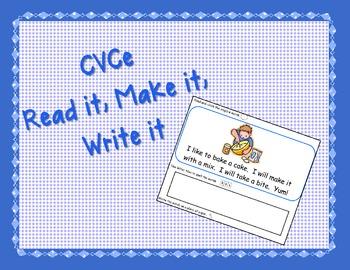 CVCe Read it, Make it, Write it