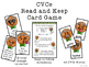 CVCe Silent E Read and Keep Card Game - Winter Gingerbread Phonics Game