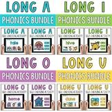 CVCe Long Vowels Silent E Digital Activities GROWING BUNDLE!
