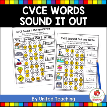 CVCe Sound It Out No Prep Packet