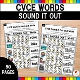 CVCe Sound It Out No Prep Packet