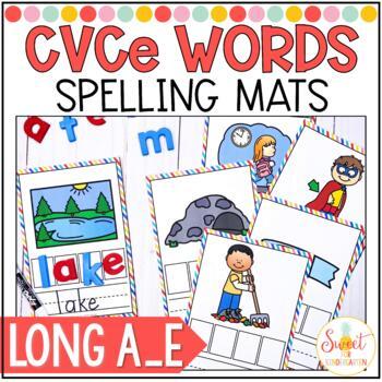 CVCe Spelling Cards {Long a_e}