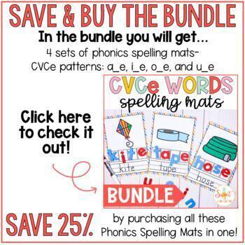 CVCe Spelling Cards- Long a_e