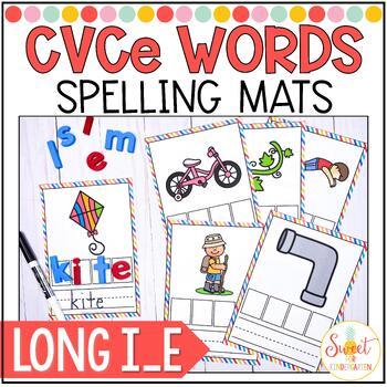 CVCe Spelling Cards {Long i_e}