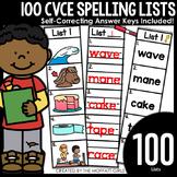 CVCe Spelling Lists!