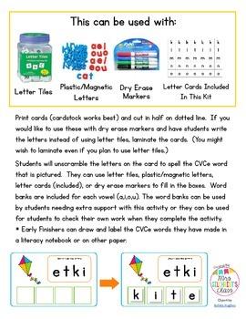 CVCe Spelling Scramble - Unscramble the letters to make CVCe words!