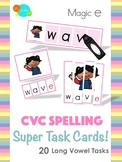 CVCe Spelling Super Task Cards!
