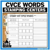CVCe Worksheets for Stamping Center