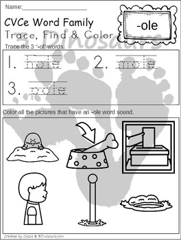 CVCe Trace, Find, & Color