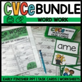 CVCe WORD FAMILY BUNDLE