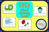 CVCe Word Activity Cards