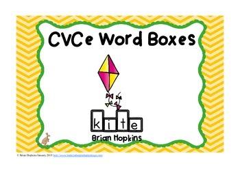 CVCe Word Boxes