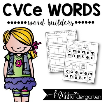 CVCe Word Builders {long vowel practice}