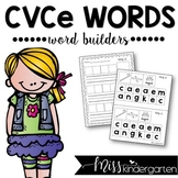 CVCe Word Builders Long Vowel Practice