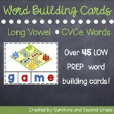 Word Building Cards [CVCe Long Vowel Words]
