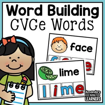 CVCe Word Building Cards