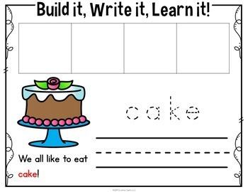 CVCe Word Building Cards Bundle