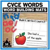CVCe Word Building Mats