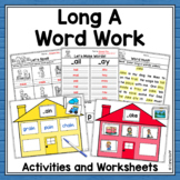 Word Work Centers and Activities for Long A