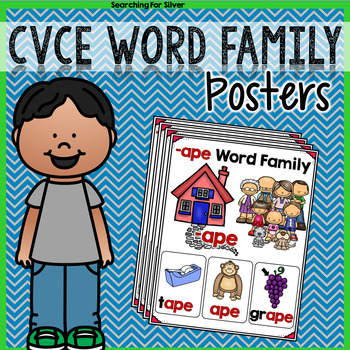 CVCe Word Family Posters