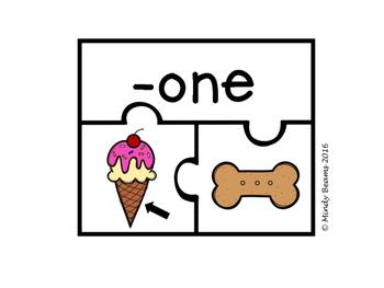 CVCe Word Family Puzzle Activity