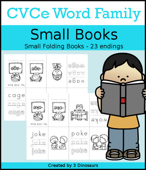 CVCe Word Family Small Book