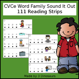 CVCe Word Family Sound It Out