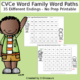 CVCe Word Family Word Paths
