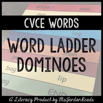 CVCe Word Ladder Dominoes (Magic E)