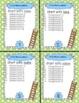 CVCe Phonics Word Ladder Task Cards