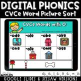 CVCe Word Picture Sort Digital Phonics Activities