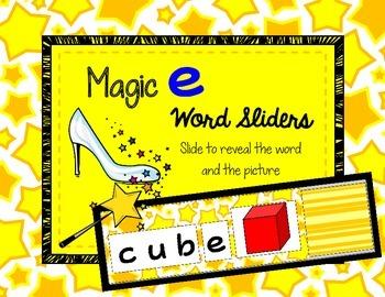 CVCe Word Slider *FREEBIE!*