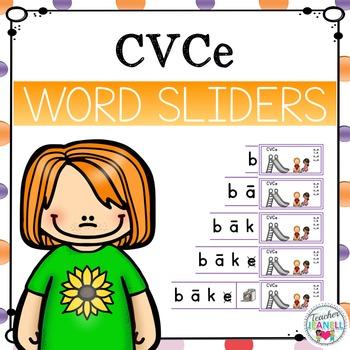 CVCe Word Sliders - Magic e/Silent e