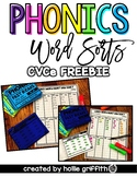 CVCe Word Sort Recording Sheets {To be used with Phonics F