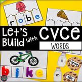 CVCe Word Building Mats, Puzzles, Cut and Paste Printables