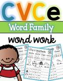 CVCe Long Vowel Words