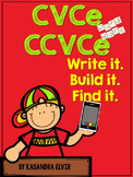 CVCe and CCVCe: Write it. Build it. Find it. (Silent E or Magic E)